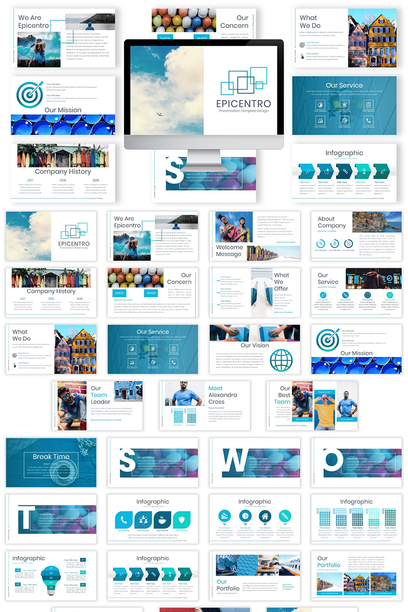 Epicentro Keynote Template #82652