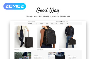 Good Way - Travel Online Store Clean Shopify Theme