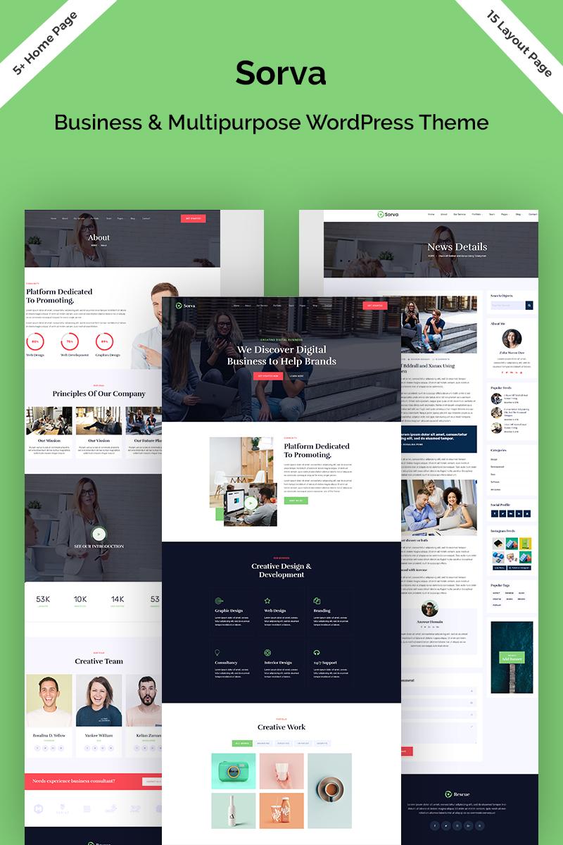 Sorva - Business & Multipurpose WordPress Theme