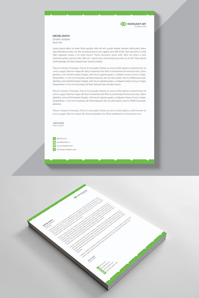 Corporate Letterhead Corporate Identity Template