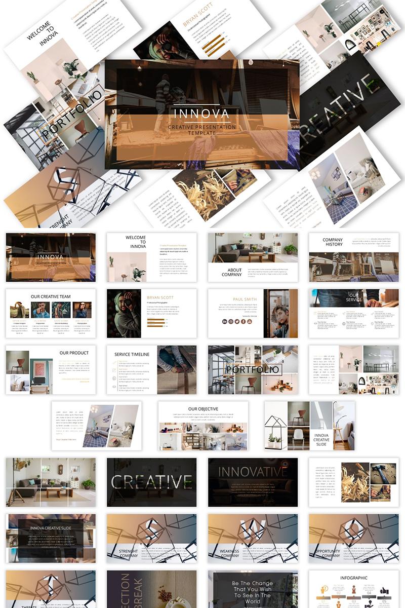 Innova - Keynote Presentation Template №82708