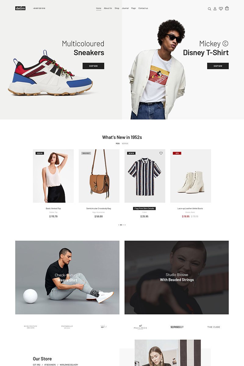Delim - Fashion Stylish WooCommerce Theme