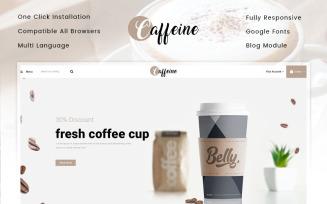 Caffeine - Coffee Store PrestaShop Theme