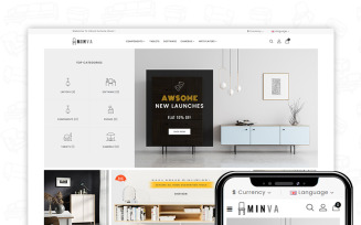 Minva PrestaShop Theme