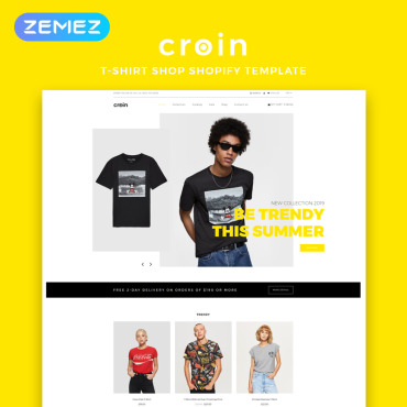 Купить  пофессиональные Shopify шаблоны. Купить шаблон #82915 и создать сайт.