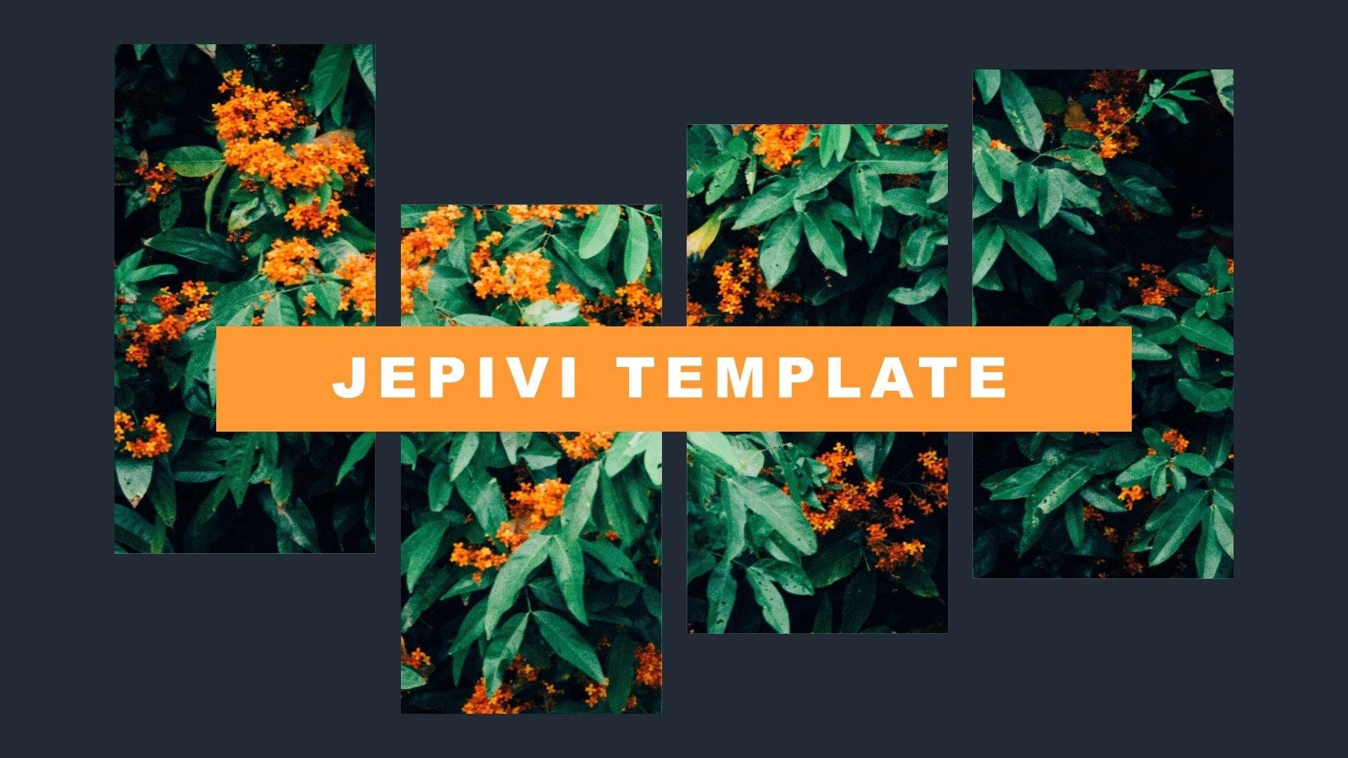 """Jepivi - Creative Image"" 奖金PowerPoint 模板 #82907"
