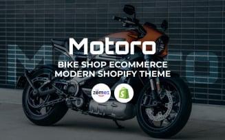 Motoro - Bike Shop eCommerce Modern Shopify Theme
