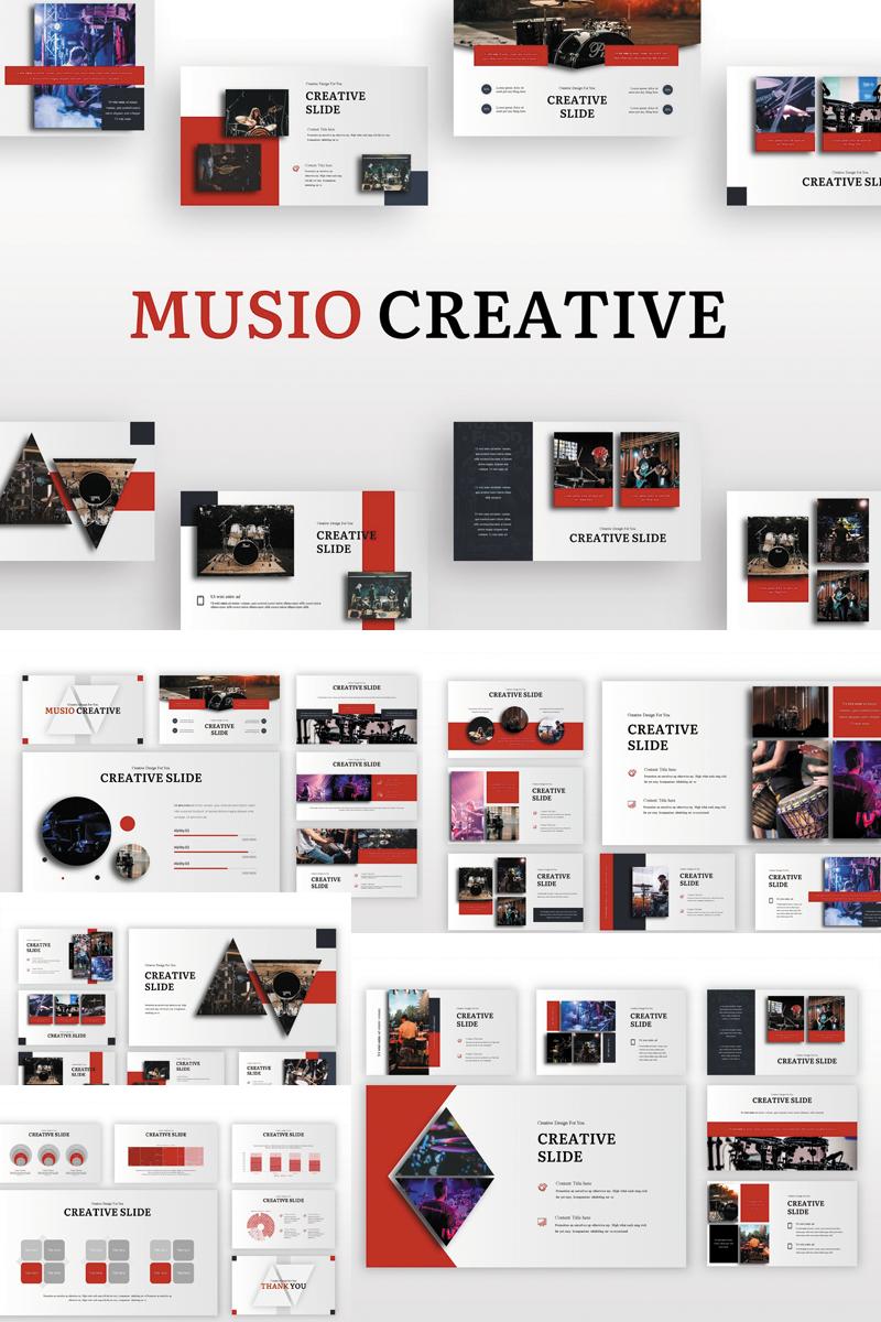 """Musio Creative"" - PowerPoint шаблон №82910"