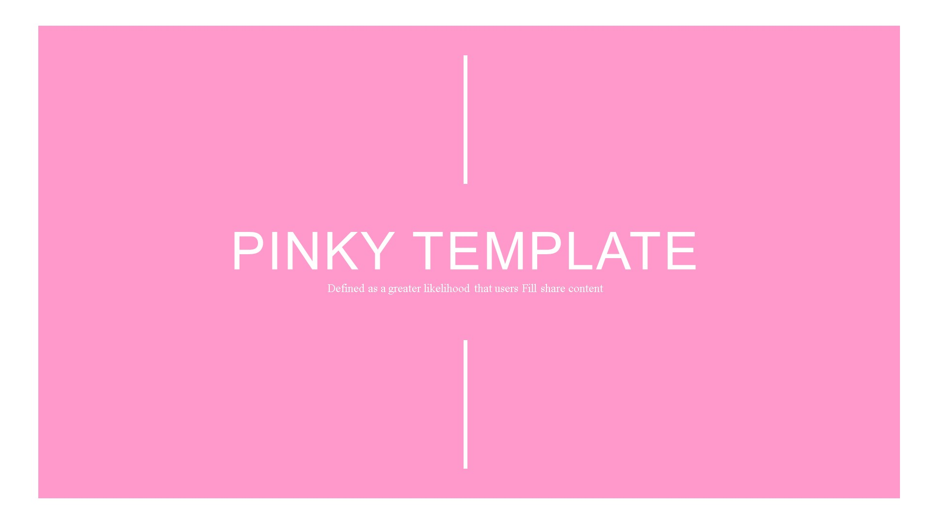 Pinky Template PowerPoint №82902