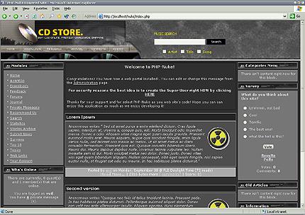 Шаблон для сайта (8313)