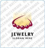 Jewelry Logo  Template 8345
