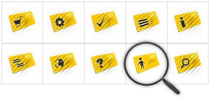 Icon Set Template 8386 Screenshots