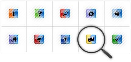 Icon Set Template 8389 Screenshots