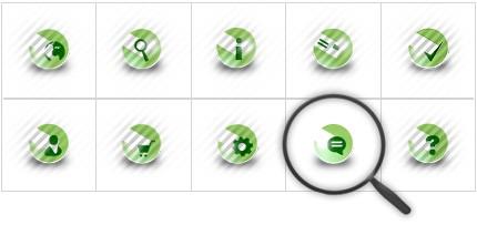 Icon Set Template 8390 Screenshots