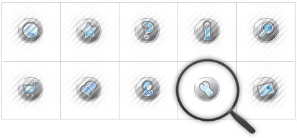 Icon Set Template 8395 Screenshots