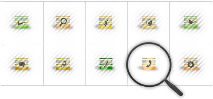Icon Set Template 8399 Screenshots