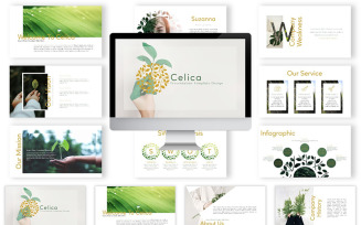 Celica PowerPoint Template