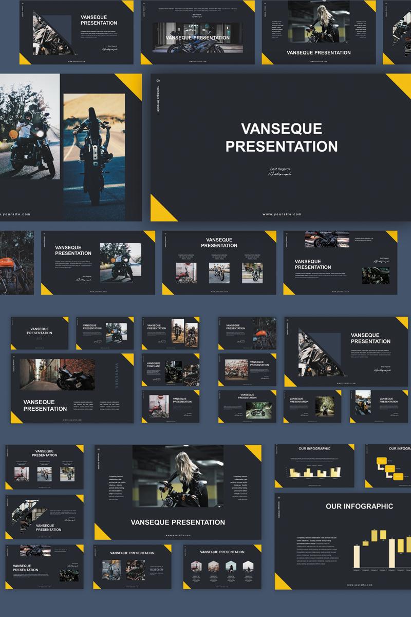 """PowerPoint Vorlage namens """"Vanseque"""" #83031"""