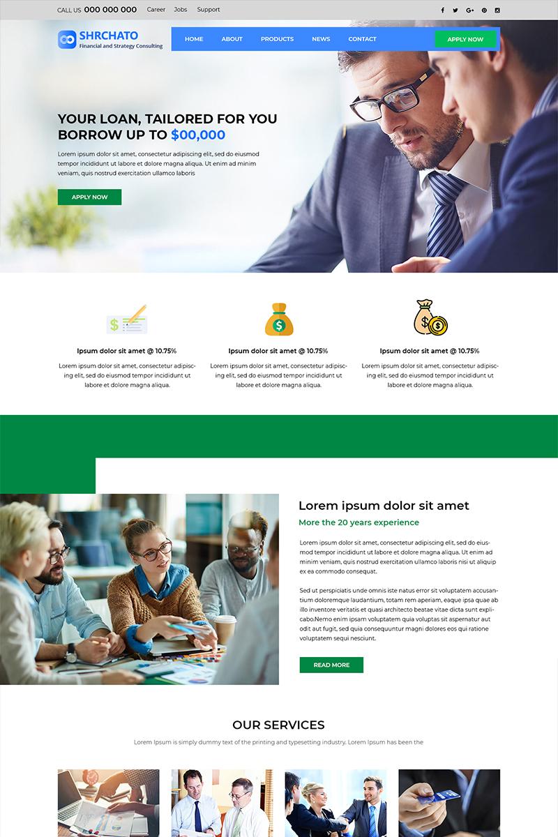 Shrchato - Financial Advisor PSD sablon 83050