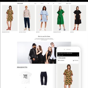 Купить  пофессиональные Shopify шаблоны. Купить шаблон #83109 и создать сайт.