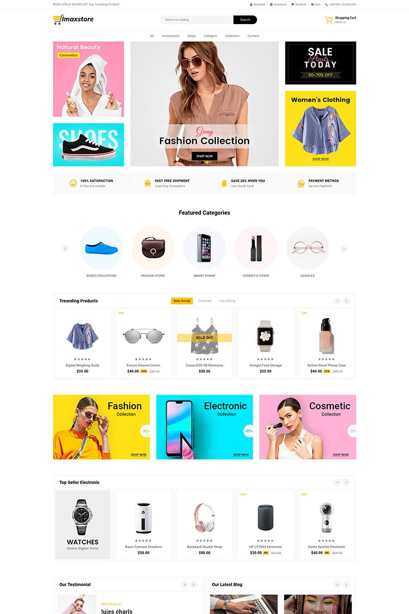 Imax Store Multipurpose Shopify Theme