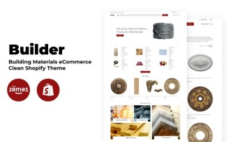 Builder - Building Materials eCommerce Clean Shopify Theme