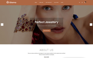 Glemo - Jewelry Shop OpenCart Template