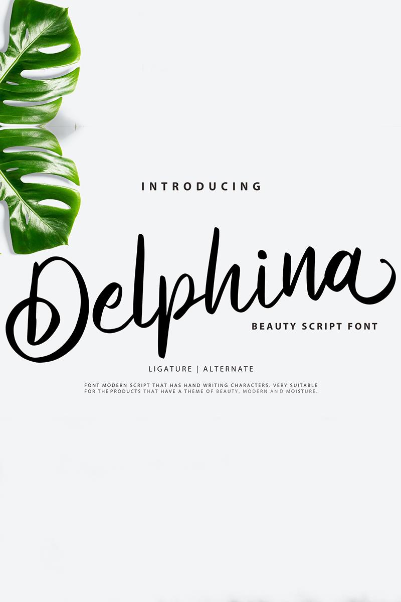Delphina   Beauty Script Font Font - screenshot
