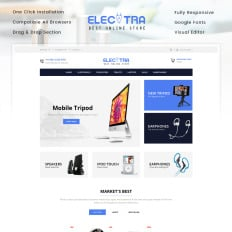 19+ Best Mobile Phones Store Shopify Themes