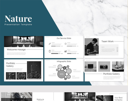 Nature - Keynote Template