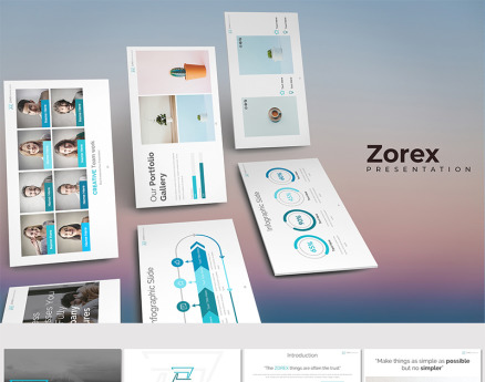 Zorex - Keynote Template