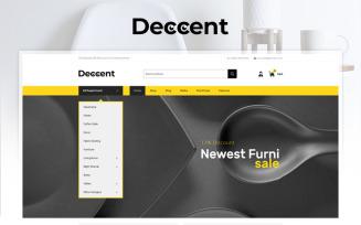 Deccent Furniture Store WooCommerce Theme