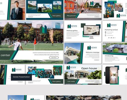 Estate - Google Slide
