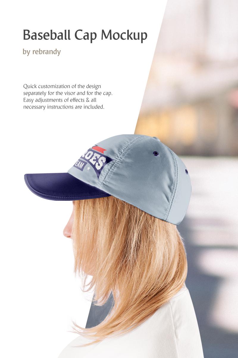 """Mockup De Producto """"Baseball Cap"""" #83336"""