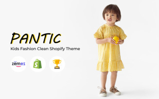 Pantic - Kids Fashion Clean Shopify Theme