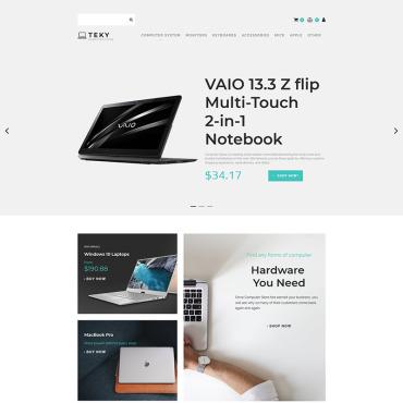 Купить  пофессиональные MotoCMS шаблоны для интернет-магазинов. Купить шаблон #83440 и создать сайт.