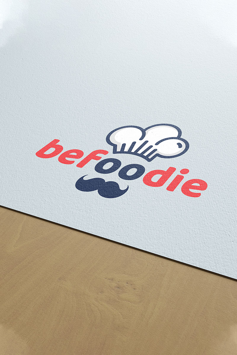 Be Foodie Logo Template