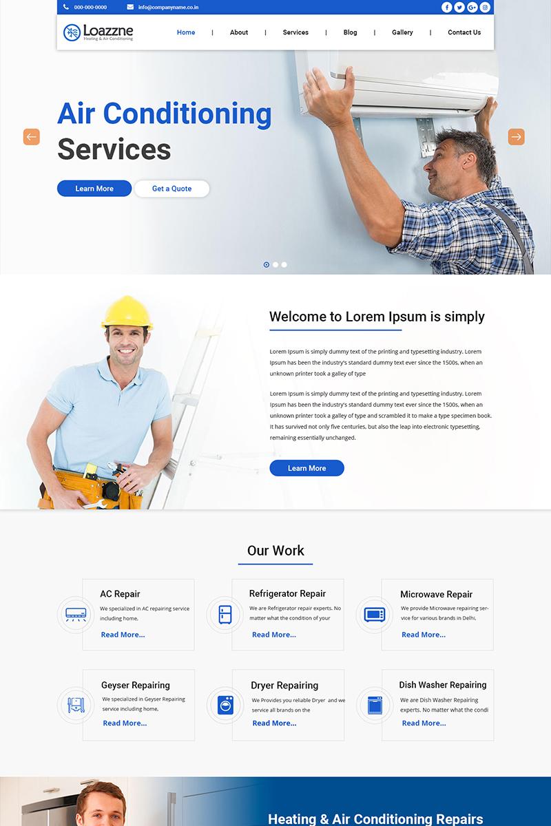 Loazzne - AC Services PSD Template