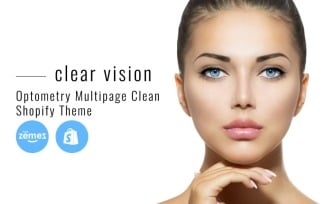 Clear Vision - Optometry Multipage Clean Shopify Theme
