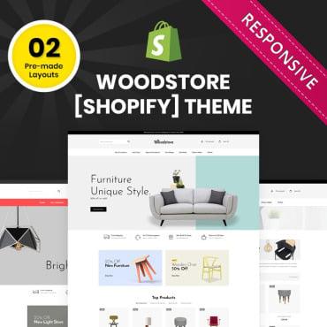 Купить  пофессиональные Shopify шаблоны. Купить шаблон #83565 и создать сайт.