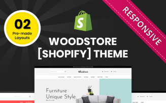 Wood Store - The Multipurpose Responsive Shopify Theme