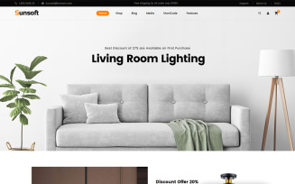 Sunsoft - Lighting Store WooCommerce Theme