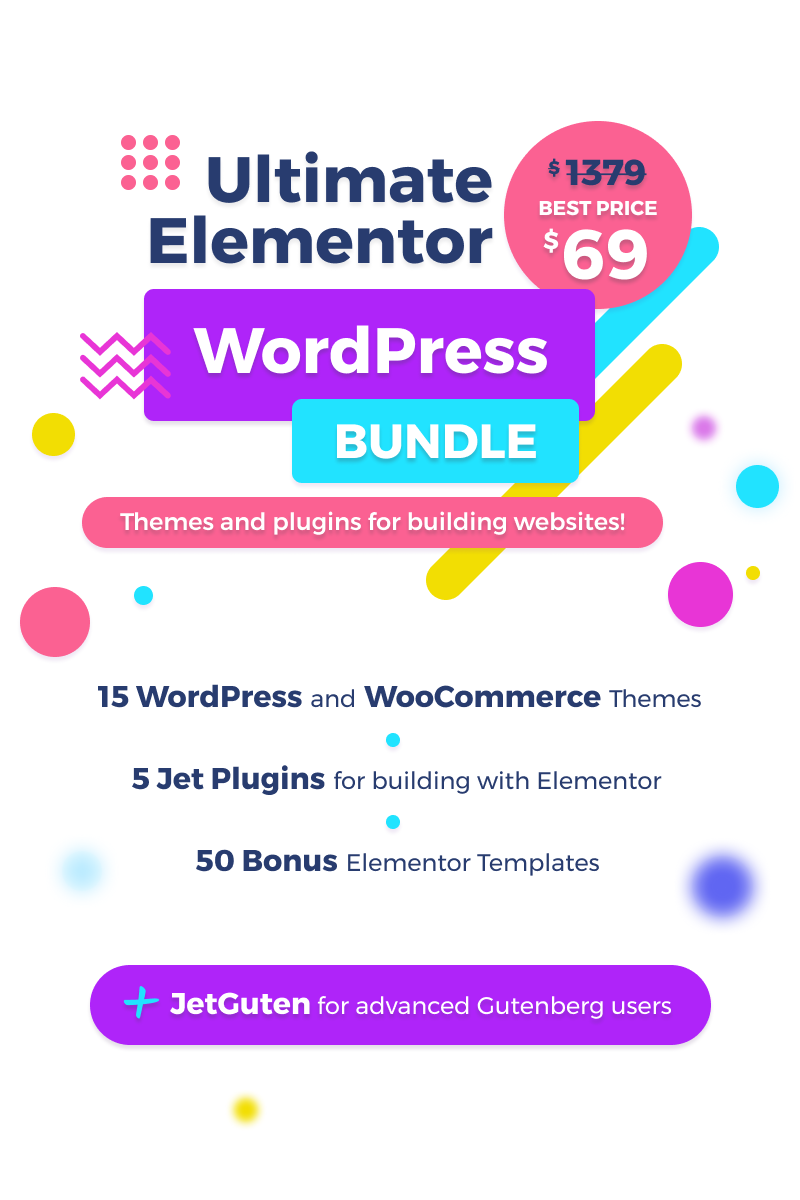 "Paquete ""Ultimate Elementor WordPress"" #83571"
