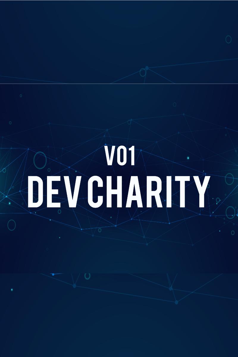 """PowerPoint Vorlage namens """"Dev Charity"""" #83534"""