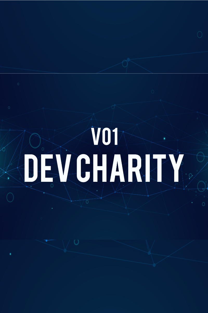 Szablon PowerPoint Dev Charity #83534