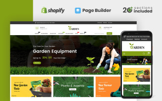 Garden Tools Store Shopify Theme