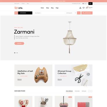 Купить  пофессиональные WooCommerce шаблоны. Купить шаблон #83650 и создать сайт.