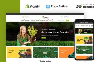 Garden Tools Store Shopify Theme
