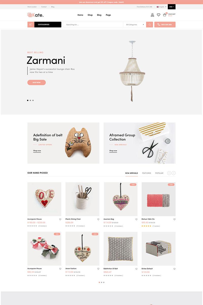Kate - Handmade WooCommerce Theme - screenshot