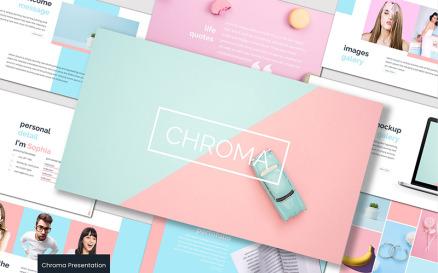 Chroma - - Keynote template Keynote Template